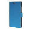 MOONCASE Simple Leather Flip Wallet Card Slot Stand Back чехол для Huawei Ascend P8 lite Blue mooncase чехол для huawei ascend p8 wallet card slot with kickstand flip leather back white
