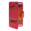 MOONCASE View Window Leather Side Flip Pouch Stand Shell Back ЧЕХОЛДЛЯ Samsung Galaxy Note 3 N9000 Hot pink mooncase view window leather side flip pouch hard board shell back чехол для samsung galaxy note i9220 hot pink