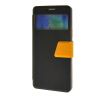 MOONCASE View window Leather Wallet Flip Stand Pouch чехол для Samsung Galaxy A7 Black аксессуар чехол samsung galaxy a7 2017 with love moscow silicone russia 5090