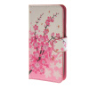 MOONCASE Plum flower style Leather Wallet Flip Card Slot Stand Pouch чехол для Huawei Ascend Y600 A06