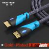 предупреждение, HDMI - кабель HDMI - позолоченные 1.4v 1080p 3D для PS3 Xbox appletv HDTV компьютерных кабелей квартира лапша кабель hdmi hdmi highspeed для 3d hdtv dvd 1 5m 3m 5м белый 1 5 м