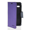 MOONCASE Classic cross pattern Leather Side Flip Wallet Card Pouch Stand Soft Shell Back чехол для Motorola Moto G Purple mooncase classic cross pattern leather side flip wallet card pouch stand soft shell back чехол для motorola moto g black