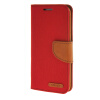 MOONCASE Galaxy S6 Edge , Leather Flip Wallet Card Holder Pouch Stand Back ЧЕХОЛ ДЛЯ Samsung Galaxy S6 Edge Red
