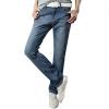 Мэн Траск (шведские кроны) NZK005 мужских джинсы мода случайных джинсовые брюки прямые джинсы синих 34