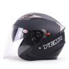 Mustang (Yema) 625 двойной объектив мотоциклетный шлем зимний шлем половина шлем электрический автомобиль мужчины и женщины Four Seasons Общие Размер Красный