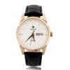 WWOOR Мода Календарь Luxury Аналоговые кварцевые Мужская кожа наручные часы Подарочные