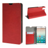 MOONCASE ЧЕХОЛ ДЛЯ Huawei Honor 7i Leather Wallet Flip Card Holder Bracket Back Pouch Red leather case left and right flip for huawei honor v8 rose red