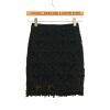 CT&HF Женщины Сексуальная моды Юбки корейских женщин темперамент сладкий платье Горячие Продажа Pure Color кружево сшивание юбка женские юбки в розницу