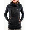 Мода капюшоном с длинными рукавами с капюшоном свитер вышитые карман hack свитер с длинными рукавами