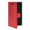 MOONCASE тонкий кожаный бумажник флип сторона держателя карты Чехол с Kickstand чехол для HTC Desire 210 Красный htc desire 650