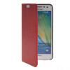 MOONCASE Slim Leather Side Flip Wallet Card Slot Pouch with Kickstand Shell Back чехол для Samsung Galaxy A3 Red синий slim robot armor kickstand ударопрочный жесткий корпус из прочной резины для vivo x9plus
