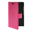 MOONCASE Slim Leather Flip Wallet Card Pouch with Kickstand Shell Back ЧЕХОЛДЛЯ Nokia X2 Hot pink nokia x2 00