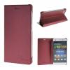 MOONCASE Huawei Ascend P8 Lite ЧЕХОЛДЛЯ Premium PU Leather Pouch Flip Red huawei p8 lite