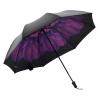PARKSON супермаркет] [Джингдонг Блэк зонтик виниловые зонтики зонтик ВС зонтик УФ зонтики 5384, г-жа Дай фиолетовый parkson моды полосатого зонтик бизнеса