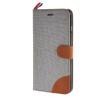 MOONCASE Denim Style Flip Wallet Card Pouch Bracket Back чехол для Cover Apple iPhone 6 Plus (5.5) грей mooncase premium pu flip leather wallet card pouch back чехол для cover apple iphone 6 4 7 красный