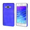 MOONCASE Жесткий Прорезиненные Резина Оболочка Вернуться Защитная крышка чехол для Samsung Galaxy Z1 Z130H синий