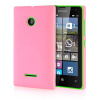 MOONCASE Hard Rubberized Rubber Coating Devise Back ЧЕХОЛДЛЯ Nokia Lumia 532 Pink чехол для nokia lumia 435 lumia 532 nokia cc 3096 зеленый