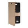 MOONCASE Slim Leather Side Flip Wallet Card Slot Pouch with Kickstand Shell Back чехол для Huawei Honor Holly Beige mooncase чехол для huawei ascend p8 wallet card slot with kickstand flip leather back white