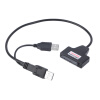 USB 2.0 к 1.8 '' 7 + 9 16 контактный микро SATA Кабель-адаптер для HDD жесткий диск hdd диск