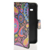 MOONCASE Flower style Leather Side Flip Wallet Card Slot Stand Pouch чехол для Samsung Galaxy Star 2 Plus G350E