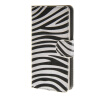 MOONCASE Zebra style Leather Side Flip Wallet Card Slot Stand Pouch чехол для Sony Xperia Z4 Compact (Mini) a07 стоимость