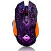 цена Блэкджек (AJAZZ) GT Gaming Mouse RGB Colorful Circle Breathing Light Elite Edition Black Game Office Ноутбук USB Проводная мышь