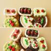 MyMei   8Pcs Dollhouse Miniature Cakes Assorted Chocolate Strawberry Cherry Cakes organic cherry chocolate chunk bar 0 80 ounces case of 20