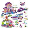 Банг Бао (мелкие частицы) головоломка бой подарок вставленных блоков детских игрушек дня рождения - Счастливый путь 6137 паяльник bao workers in taiwan pd 372 25mm