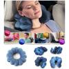 MyMei Comfortable Travel Pillow Bluet Twist Neck Back Head Cushion Neck Massage New