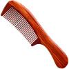 Му Юань Фанг (MUYUANFANG) Shank красного сандалового дерева деревянный гребень подарок HTT-2001 шанель chanel мисс какао помада пера 214 2g пан коричневый цвет красного сандалового дерева