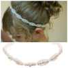 MyMei Cute Baby Princess Flower Girls Kids Hair Band Children Rhinestone Headband 1PC 1pc new cute women girls colorful sun flower hair band hair clip hair rope 5colors