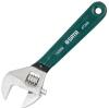 Мир (SATA) 47253 европейский пластиковый вонзились гаечный ключ Разводной гаечный ключ 15-дюймовый гаечный ключ ключ forgestar с резиновой ручкой и весом 10 дюймовый регулируемый ключ