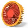 Стиль (стильный! Epie) A201 настольный ультра-тихий рефрижератор мини-портативный большой мощности ветра USB-вентилятор грейпфрут