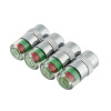 MyMei New 4PCS/lot 2.4Bar Car Tire Monitor Pressure Gauge Cap Sensor Indicator