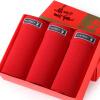 PLAYBOY Мужские красные трусики 3 шт. в подарочной коробке playboy мужские трусы пакет по электронной почте печатных талии мужчины краткое белье сексуальные мальчики подарочной коробке
