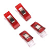 MyMei On Sale Useful Sewing Craft Quilt Binding Clips Clamps Clear and Red 50pcs/Set paper clips 50pcs