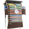 И желательно (UHOO) 6510 Студентов висят книги сумку 64 * 43см сапфира настольной книги стоечных книги