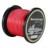 8 Пряди 10 LB-300lb испытания красный 100m-2000m плетеная леска
