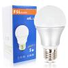 Фошань освещения (FSL) Светодиодная лампа энергосберегающая лампочка 5W большой рот E27 Hyun белый теплый белый 3000K