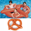 MyMei  Inflatable Swim Ring Fun Bite Shape Donut Swimming Pool Water Float Raft YW 1 9 1 9m hot giant pool swimming inflatable flamingo float air matters floating row swim rings summer water fun pool toys