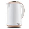Oaks (AUX) 1.5L Электрочайник стали чайник электрический чайник из нержавеющей бесшовных гильза двойной анти-ошпарить чайник HX-A6026 чайник электрический kitchenaid ktst20sbst