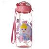 Дисней (диета) музыка, перемещающаяся детская чашка пластиковые соломенные чашки, герметичный ремешок, бутылка для младенца, чашка для младенцев, чашка для принцессы, чашка для чашек, кубок 6340 розовая принцесса чашка для яйца colour caro
