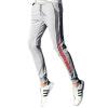 (MSEK) XK3202 мужские корейские штаны брюки брюки Slim спортивные длинные брюки ноги брюки свитер прилив серый XXL