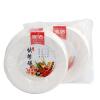 Супермаркет] [Jingdong одноразовой посуды поднос еды должен очистить открытый поставок барбекю 8-дюймовый диск скидка означает 50 JD-7025 скидка