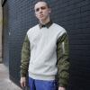 viishow свитер европейская и американской улица случайного свитера мужчины шеи длинных рукава пуловер свитер серого M код W104853
