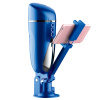 Взрыв тепло пространство Gina электрического самолет чашка мужского аппарат громкой видео интерактивной присоска чашка для взрослого секс поставки синих вибромассажер хай тек leia бирюзовый