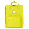 Миллион письмо (WXD) WB02032 моды плечо сумки подругам мужчин и женщин пара отдых путешествия рюкзак школьный желтый