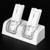 Двойной станции зарядное 2x 2800mah аккумуляторная батарея для Wii пульта дистанционного управления вольт wii