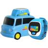 Ubbie Волшебные ручные часы Мегафон-вагонетка с зарядкой+детские телефон-ручные часы можно учиться звонить определить место Синий