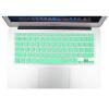 KOOLIFE MacBook Защитная пленка для ноутбука Apple для MacBook Air / Pro13 15 17-дюймовая специальная клавиатурная плёнка, пыленепроницаемая и водонепроницаемая - зеленая koolife macbook ноутбук клавиатура защитная пленка нанесенная apple macbook air pro13 15 17 yingcun специальная клавиатура пленка пыли и воды черный